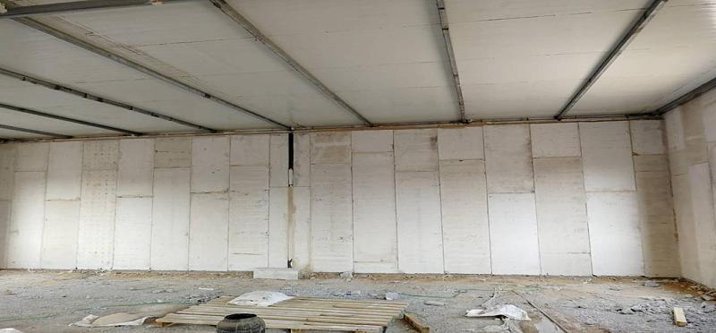 轻质隔墙板安装 (2)